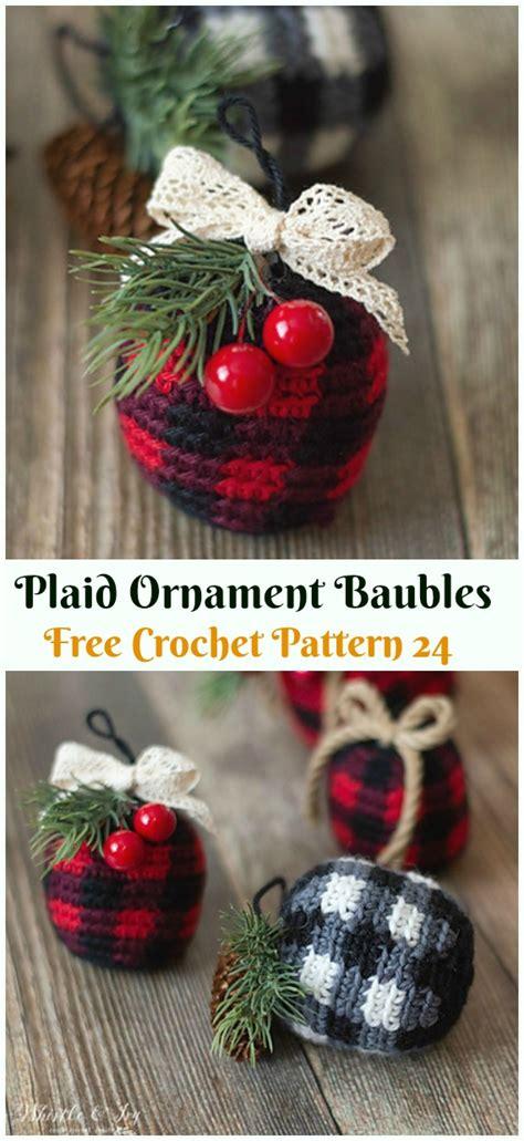 diy crochet christmas ornament  patterns