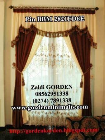 Gorden Shabby Chic Blackout Premium Plus Poni Renda model gorden rumah minimalis modern terbaru