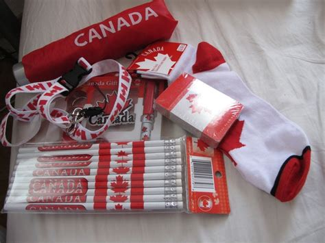 gifts to canada one gazillion gifts from canada and a trip outside