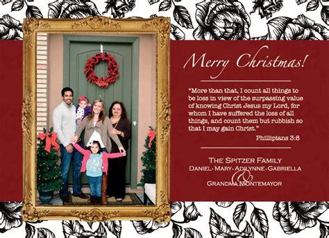 diy custom christmas cards because i like to decorate