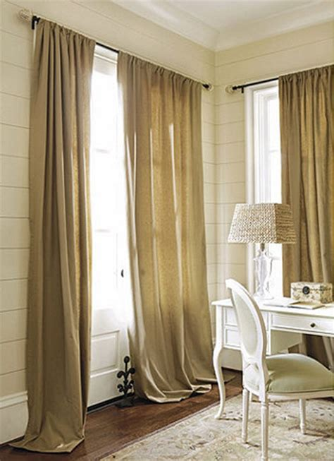 how to decorate curtains 15 ways to decorate with burlap