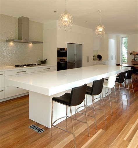 kitchen with breakfast bar designs contemporary kitchen counter and breakfast bar design by
