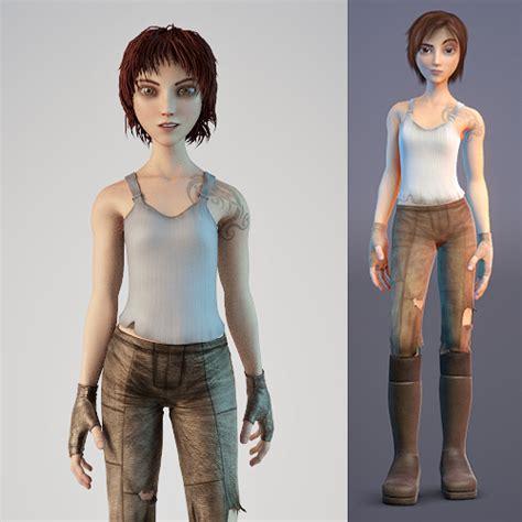 3d Character Models Free sintel 3d character model free 3d models