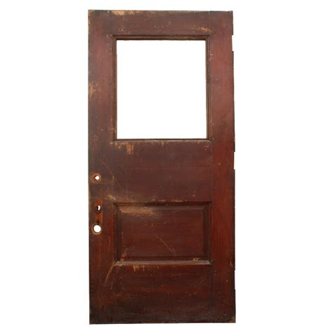 Antique Exterior Doors For Sale Lovely Antique Salvaged 42 Exterior Oak Door With Window Ned77 Rw For Sale Antiques