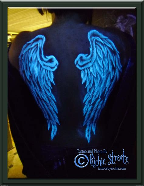 black light tattoo uv blacklight wings artists org