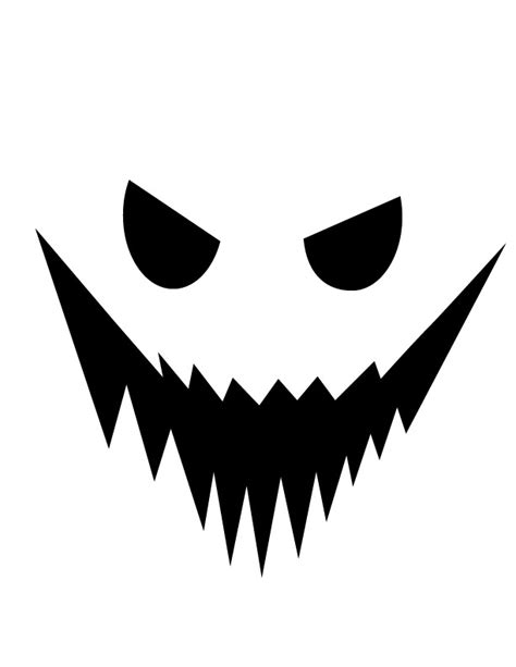 best photos of halloween ghost faces template printable