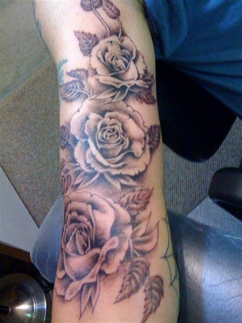 rose bush tattoo bush with thorns tattoos on