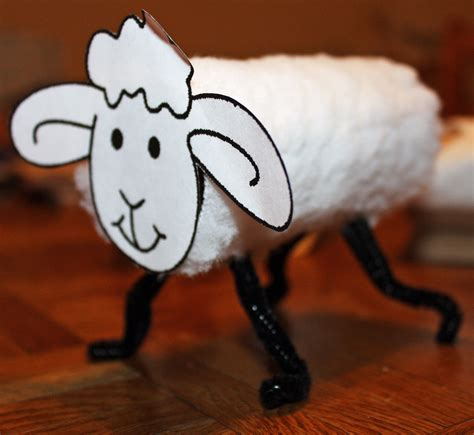 Crafts Using Toilet Paper Rolls - use toilet paper roll cotton balls pipe cleaner and