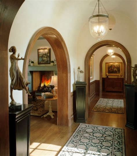 using arches in interior designs
