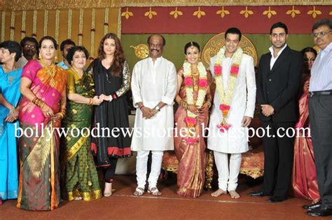 Wedding Album Of Alukkas by News Aishwarya And Abhishek Bachchan At