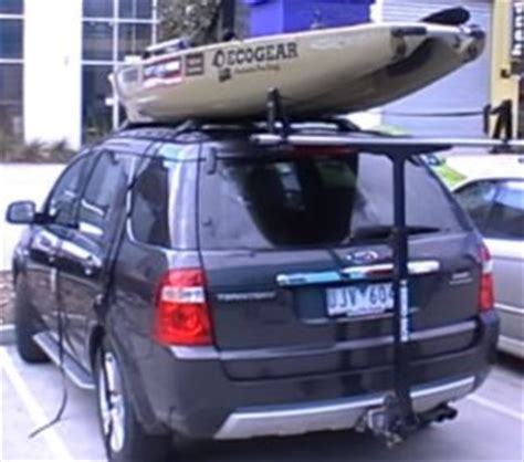 boat carrier for suv trailer hitch mounted kayak carrier racks 2018 hitch review