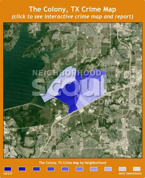 the colony texas map the colony 75056 crime rates and crime statistics neighborhoodscout