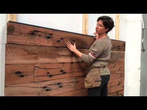 wood feature walls diy youtube