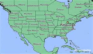 Pittsburgh Map Usa by Where Is Pittsburgh Pa Where Is Pittsburgh Pa Located