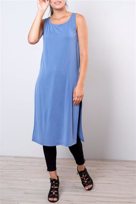 Side Slit everly side slit tunic from vancouver by 8th
