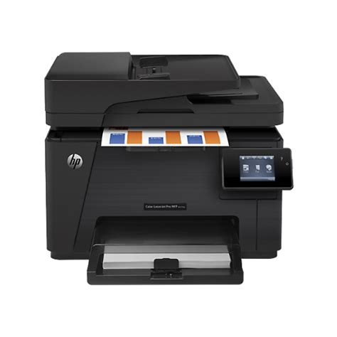 color laser printer scanner hp hpljm177fwb wireless laserjet color printer w scanner