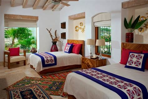 mexican bedroom colorful modern mexican