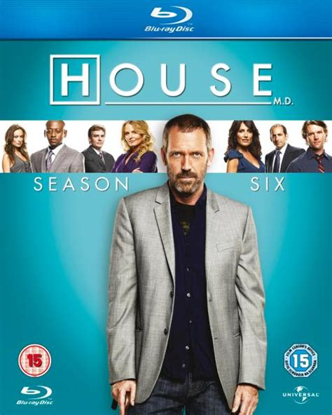 season 6 house house season 6 blu ray zavvi es