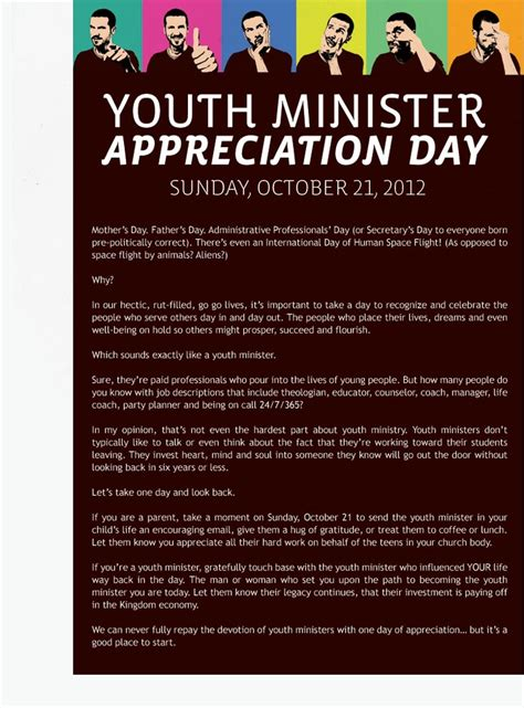 appreciation letter to youth pastor 41 best images about pastors appreciation on
