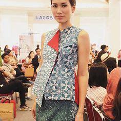 Rok Celana Batik 2 In 1 model baju batik kombinasi kain polos untuk wanita pola models and polos