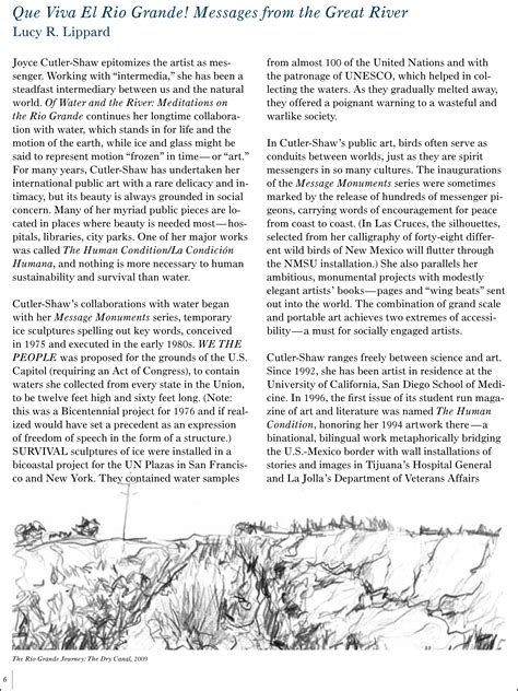 Water Cycle Essay by Joyce Cutler Shaw News Articles 187 Archive Lippard Catalog Essay Of Water And The