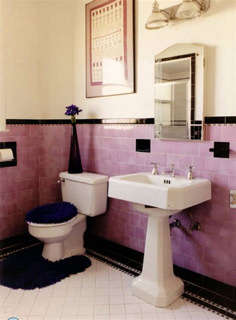retro pink bathroom ideas 34 4x4 pink bathroom tile ideas and pictures