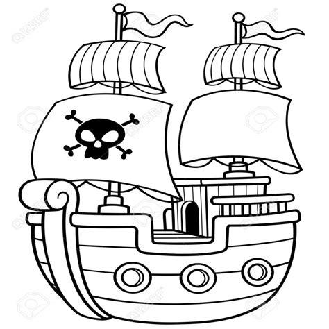 imagenes de barcos para colorear e imprimir hermoso dibujos de barcos piratas infantiles para colorear