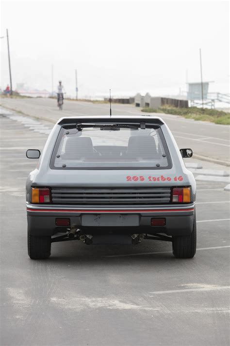 peugeot turbo 2016 peugeot 205 turbo 16 1984 sprzedany giełda klasyk 243 w