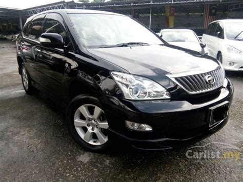 used 2010 toyota harrier 240g toyota harrier 2010 240g 2 4 in selangor automatic suv