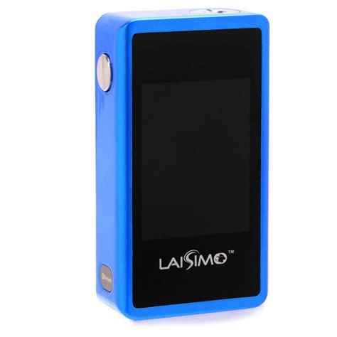 Smart Vape Authentic Laisimo L1 Box Mod Oled Display 200w metallic blue laisimo l3 touch screen mod available