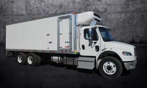 refrigerated truck body refrigerated trailer manufacturer kidron usa  sale