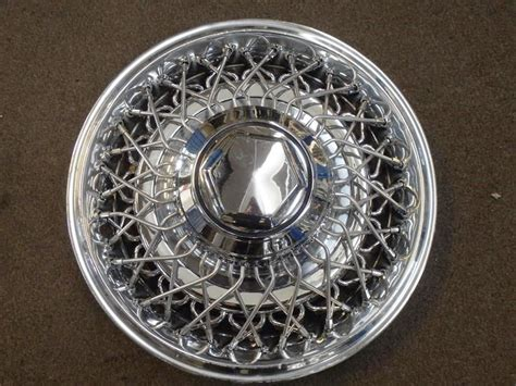 Chrysler Wheel Covers by 1979 Chrysler 15 Inch Wire Wheel Cover B Classic Cars