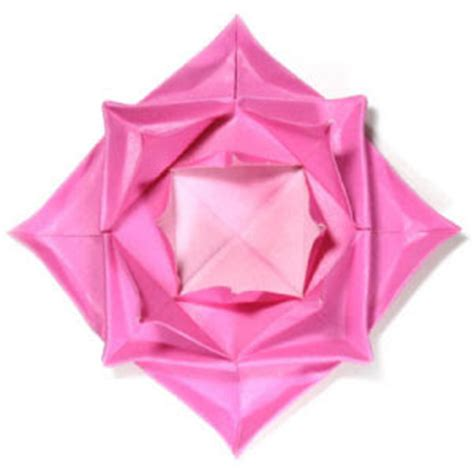 Simple Origami Lotus Flower - origami maniacs easy origami lotus flower