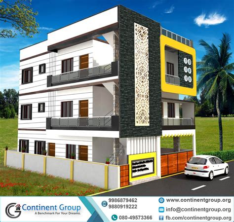 House Design Floor Plan Philippines front elevation for 4 floor building thefloors co