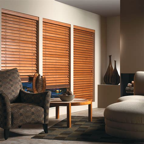 Blinds For Living Room by Wood Living Room Blinds Interior Inspiration Decosee