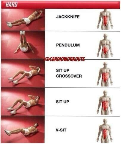 ab workouts and their targeted groups health fitness ab