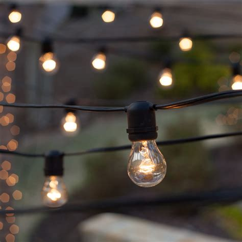 outdoor patio string lights 54 e26 commercial patio