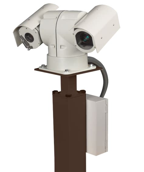 how to secure a pedestal top mount pedestals security camera poles
