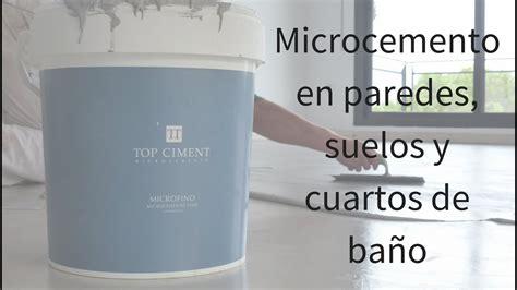 video aplicacion microcemento en paredes suelos  banos