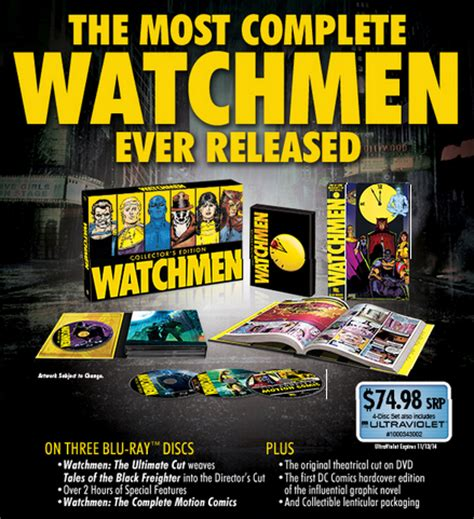 watchmen the deluxe edition watchmen collector s edition announced superherohype