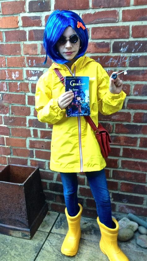 coraline costume  world book day world book day