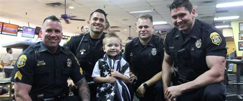 Officer In by Florida Officers Pint Size Fan At Themed