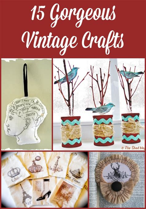 vintage craft ideas and projects vintage crafts 28 images paper crafts modern magazin