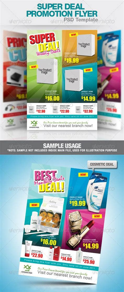 graphicriver flyer psd flyer templates graphicriver super deal promotion flyer