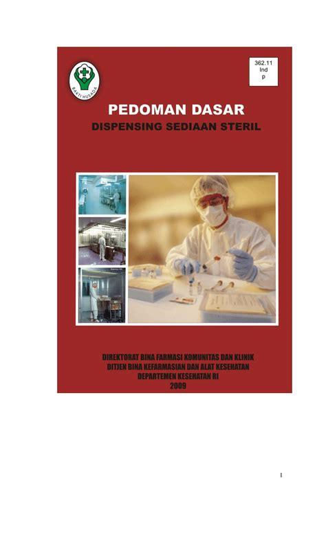 dispense pdf pdf pedoman dasar dispensing sediaan steril