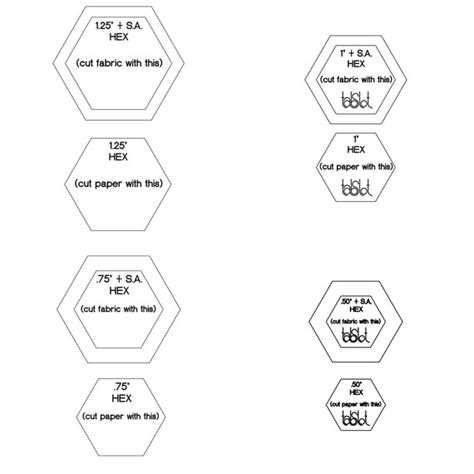 3 inch hexagon template best photos of 10 inch hexagon template hexagon shape 3