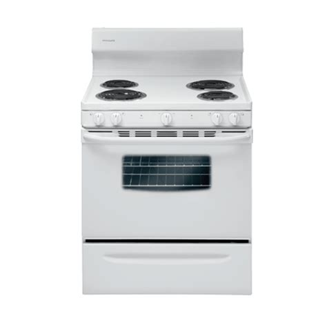 bottom drawer on electric oven frigidaire ffef3005mw 30 quot electric coil range 4 2 cuft
