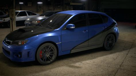 fastest subaru my subaru in nfs fom fast and furious 7