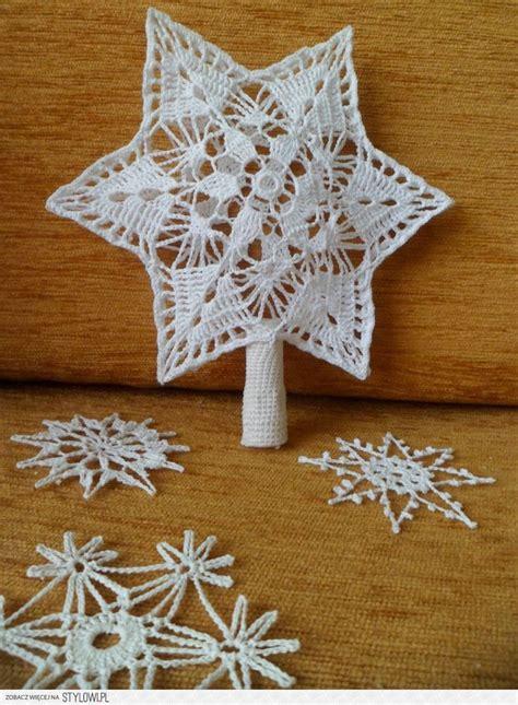 knitting pattern christmas tree topper crochet christmas tree topper and snowflakes crochet