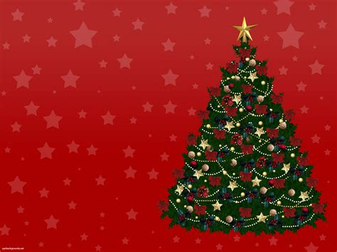 free new year christmas tree backgrounds for powerpoint
